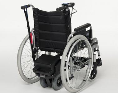 rolstoel met motor v-drive