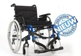 nieuwe rolstoel aangeboden